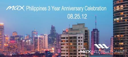 Max Philippines' 3rd Anniversary Celebration.