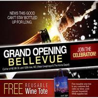 Bellevue WA Grand Opening Wine and Beer Tasting...