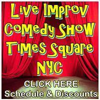 Daily 3pm Matinee Improv Comedy NYC 2012