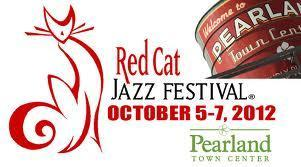 2012 Red Cat Jazz Festival @ Pearland Town Center...