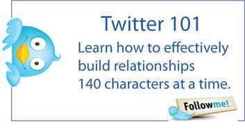Twitter 101 - Social Media Master's Training