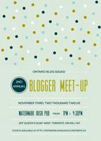 Second Annual Ontario Blog Squad Meet-Up