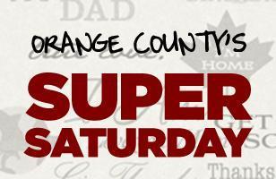 Orange County's Super Saturday :: August 18th