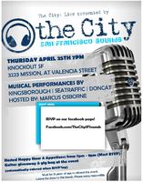 THE CITY, FREE LIVE MUSIC EVENT, presented by JACK...