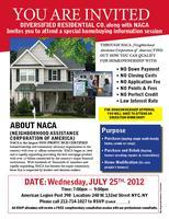 HOMEBUYING INFORMATION SESSION