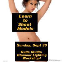 Glamour Nude Studio Lighting Photography Workshop
