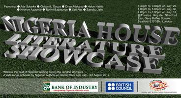 NIGERIA HOUSE LITERATURE SHOWCASE (DAY 1)