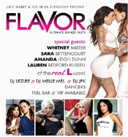 fLaVoR Houston w/ Real L Word cast