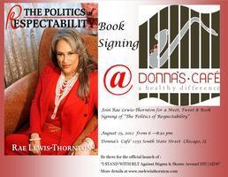 "Book signing, Meet & Tweet ""The Politics of..."