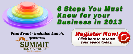 6 Steps You Must Know for your Business Sponsored by...