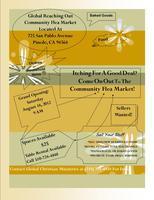 "Global Christian Reaching Out ""Community Flea Market"""