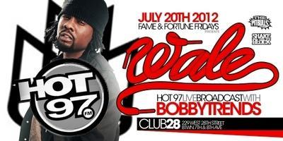 "MMG's Platinum Artist ""WALE"" Performs Live @ Club 28"