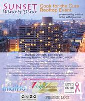 Sunset Wine & Dine KitchenAid Cook for the Cure Event...