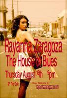 Rayanna Zaragoza Live @ THE HOUSE OF BLUES