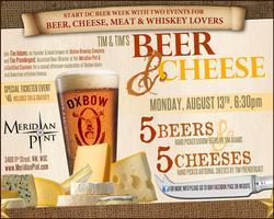Cheese & Oxbow Beer