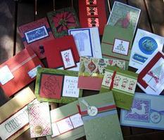 Christmas Stamp-a-Stacks 2012