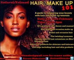 Natural/Relaxed HAIR & MAKEUP 101