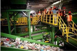 Tour of the Rhode Island Resource Recovery Corporation