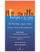 Twilight by the Lake - Free Mixer on Cathedral Plaza...