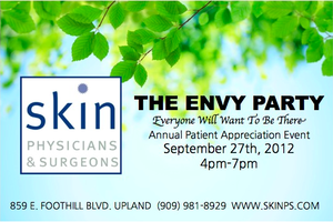 The Envy Party at Skin Physicians and Surgeons