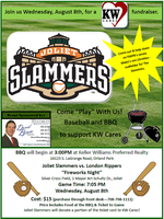 Joliet Slammers Supports KW Cares!