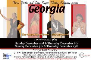 GEORGIA the one-woman play back in NYC