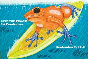 SAVE THE FROGS! Art Fundraiser