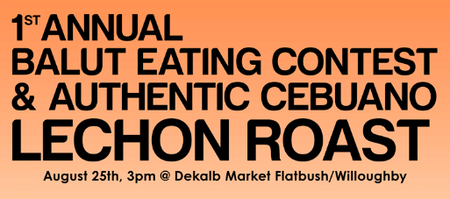 First Annual Balut Eating Contest and Authentic Cebuano...