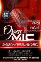 Open Mic Talent Show Case and After party