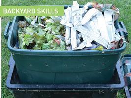Backyard Skills: Worm Bin Construction