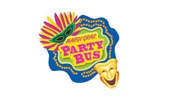 Mardi-Gras Party Bus