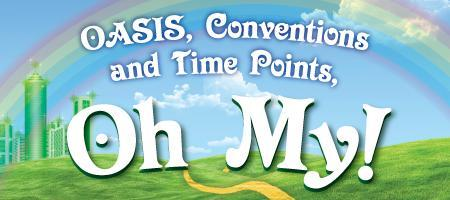 OASIS, Conventions and Time Points, OH MY!