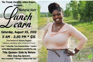 Natural Hair Lunch and Learn