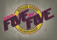5x5 Roller Derby Championship logo