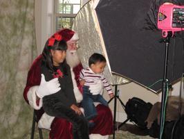 Holiday Sales Event & Santa Photos