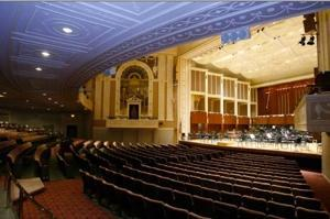 Tour of Hilbert Circle Theater - August 2012