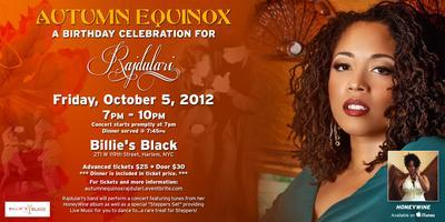 Autumn Equinox: A Birthday Celebration for Rajdulari