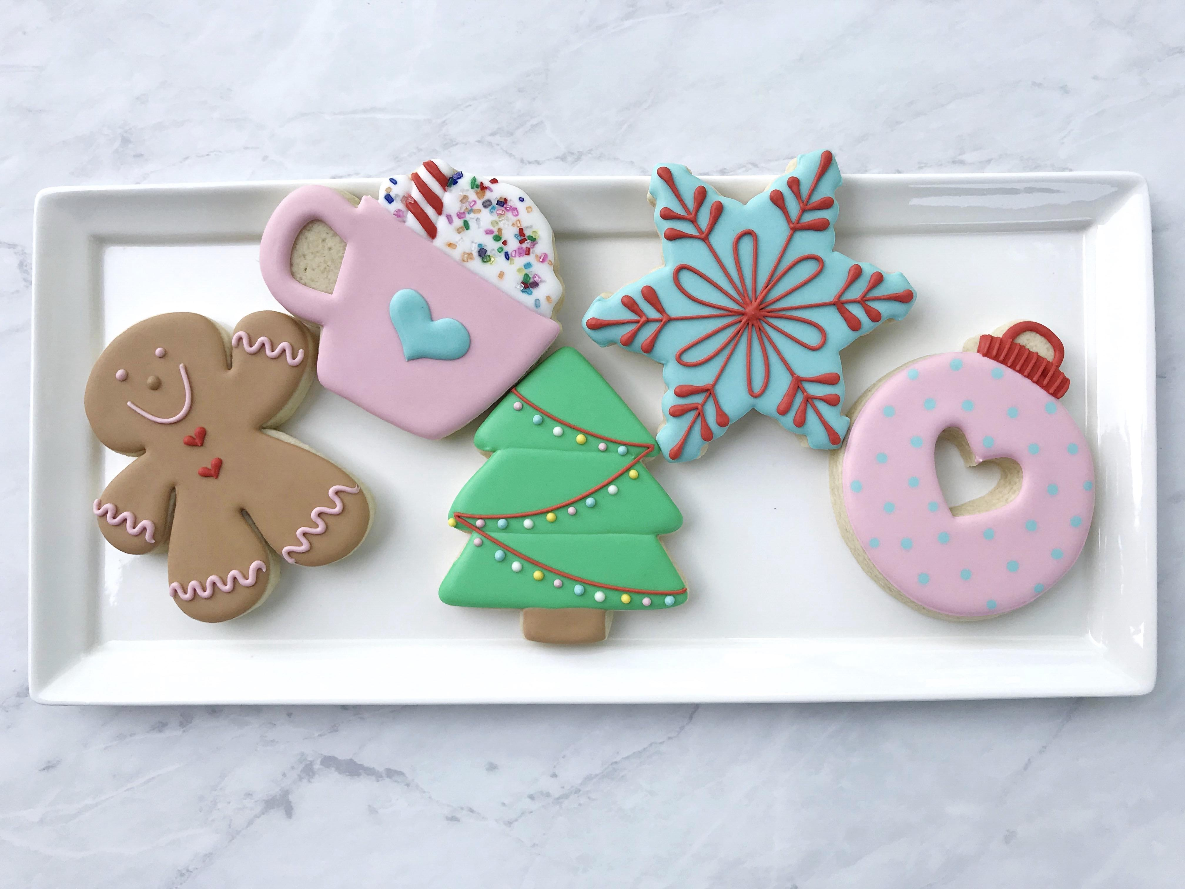 Christmas Cookies December 2020 Christmas Cookie Decorating Class For Beginners   11 DEC 2020