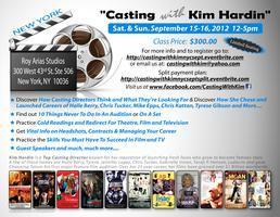 Casting With Kim Hardin 2012: New York City