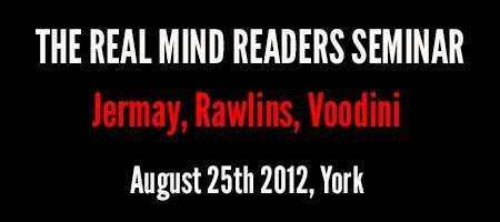 Real Mind Readers Seminar - York