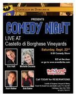 Comedy Night at Borghese Vineyards