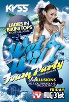 Kyss Fridays - Foam Party @ Club Illusions Palo Alto,...