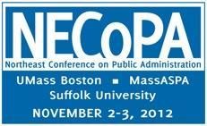 NECoPA Conference -  PUBLIC ADMINISTRATION IN A TIME...