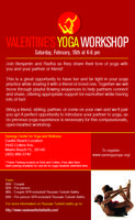 Valentine's Partner Yoga Workshop