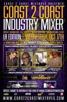 Coast 2 Coast Music Industry Mixer | LA Edition - 10/17/12