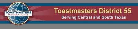 Texas Starts Toastmaster's Open House!