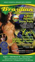 BRAZILIAN INDEPENDENCE & BIKINI FASHION SHOW PARTY BY...