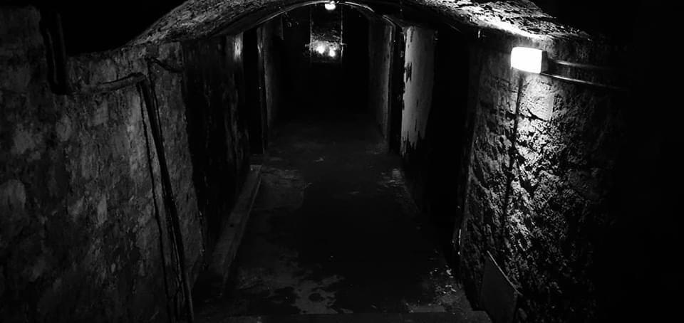 Niddry Street Vaults Ghost Hunt Edinburgh Scotland With Haunting Nights