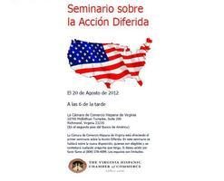 Deferred Action Seminar/ seminario sobre la acción...