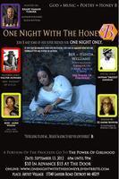One Night With The Honey B: God+Music+Poetry=Honey B